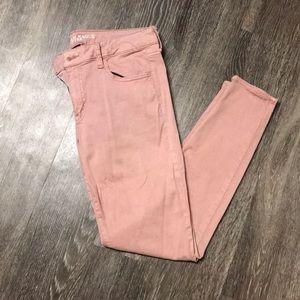 Mauve Pink Jegging Pants
